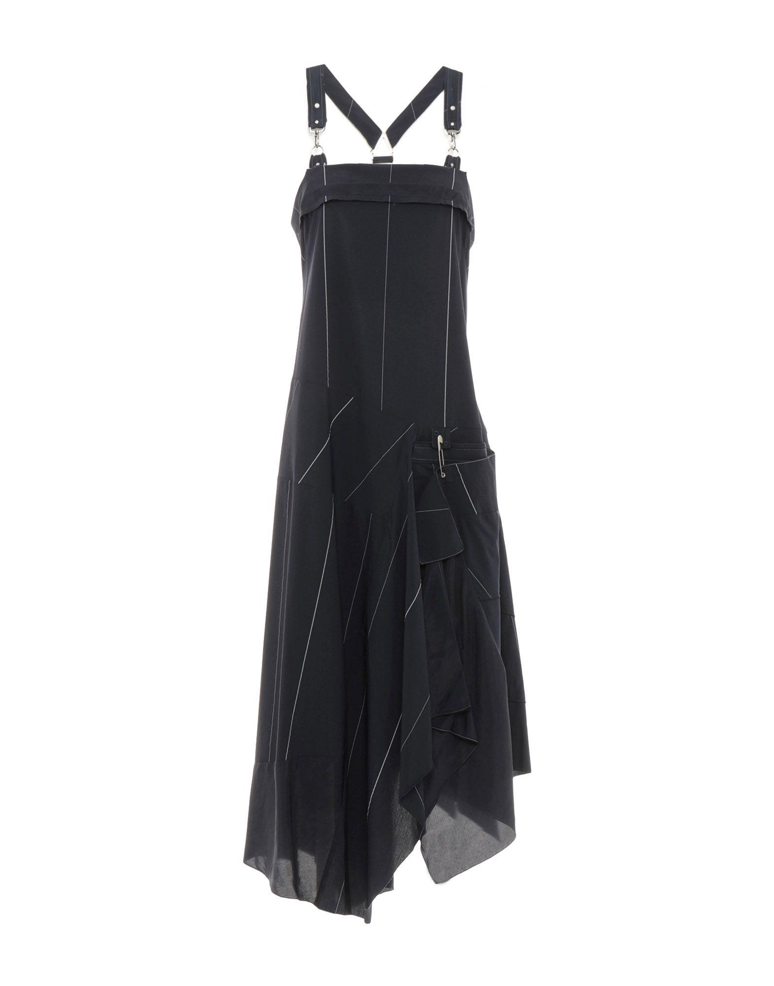Фото - HIGH Платье длиной 3/4 брошь blucome bijouteria esmaltes 7106100495