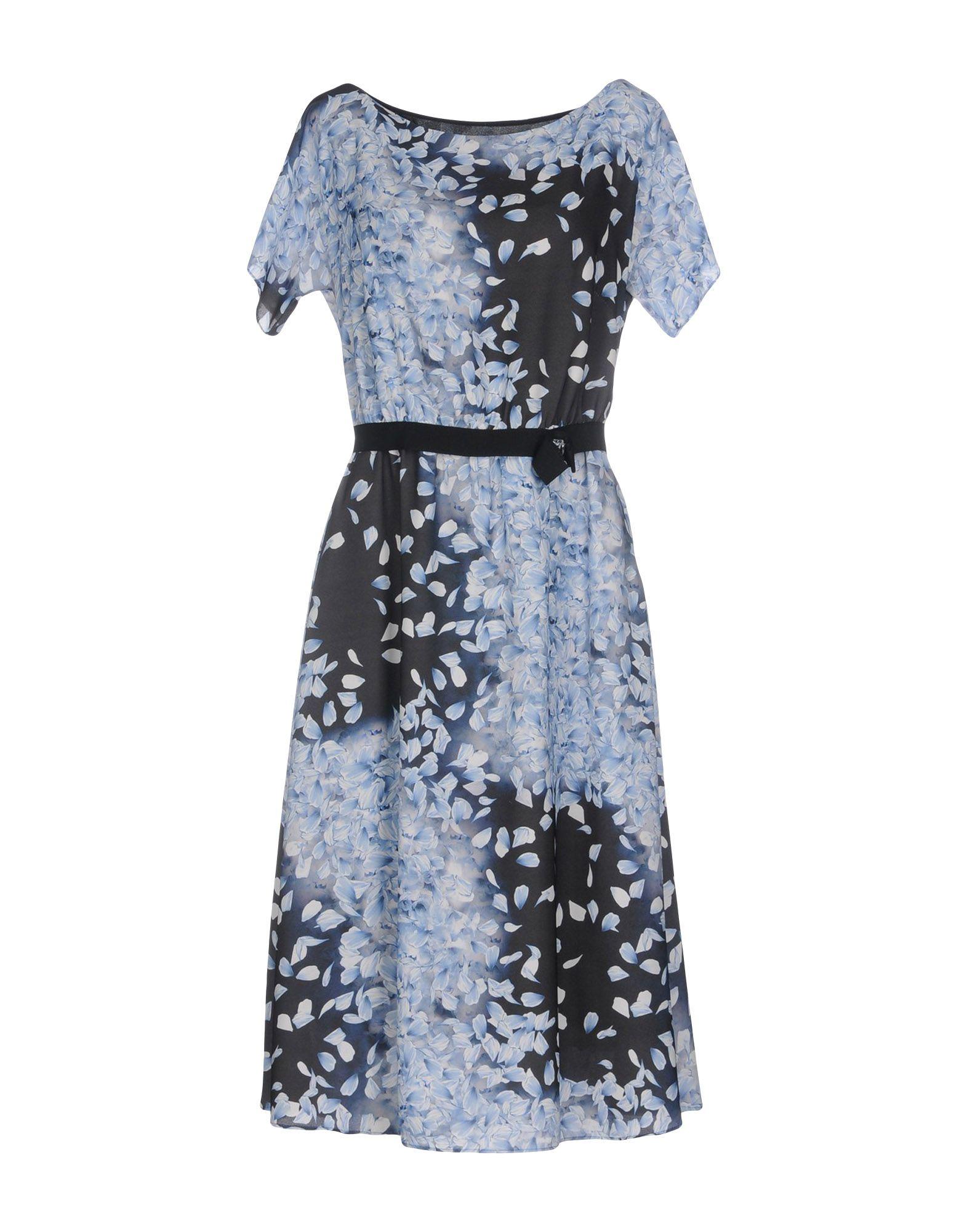 цена GIULIA VALLI Платье до колена онлайн в 2017 году