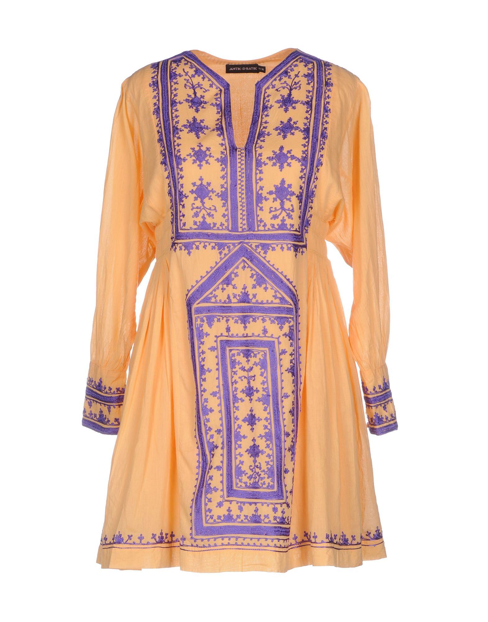 ANTIK BATIK Короткое платье jacket antik batikhref href page 12