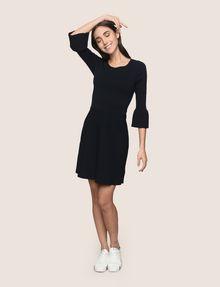 ARMANI EXCHANGE BELL SLEEVE SWEATER DRESS Mini dress Woman d