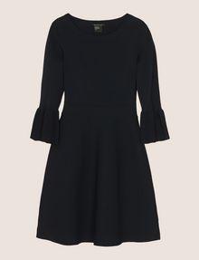ARMANI EXCHANGE BELL SLEEVE SWEATER DRESS Mini dress Woman r