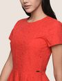 ARMANI EXCHANGE EYELET LACE FIT-AND-FLARE Mini dress [*** pickupInStoreShipping_info ***] b