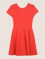 ARMANI EXCHANGE EYELET LACE FIT-AND-FLARE Mini dress [*** pickupInStoreShipping_info ***] r