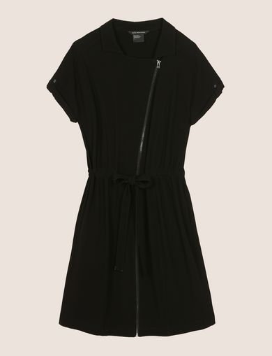 ZIP-UP SHIRTDRESS