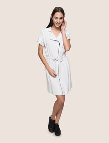 ARMANI EXCHANGE ZIP-UP SHIRTDRESS Mini dress Woman d