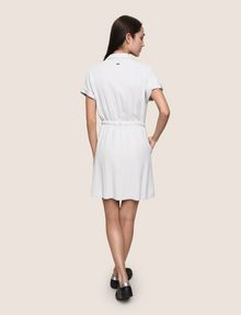 ARMANI EXCHANGE ZIP-UP SHIRTDRESS Mini dress Woman e