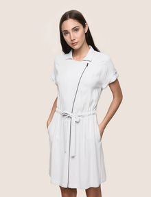 ARMANI EXCHANGE ZIP-UP SHIRTDRESS Mini dress Woman f