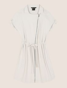 ARMANI EXCHANGE ZIP-UP SHIRTDRESS Mini dress Woman r