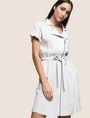 ARMANI EXCHANGE ZIP-UP SHIRTDRESS Mini dress Woman a