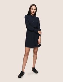 ARMANI EXCHANGE CHECK PATTERN SHIRTDRESS Mini Dress Woman d