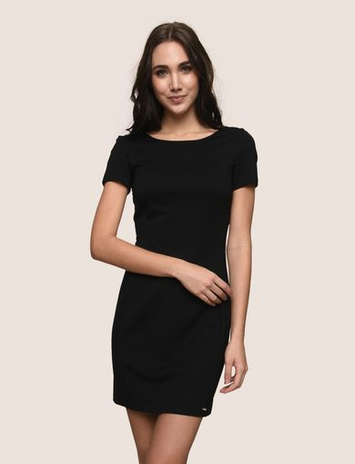 ZIP-BACK SHEATH DRESS