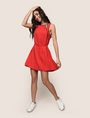 ARMANI EXCHANGE CUTOUT NECKLINE SWING DRESS Mini Dress Woman d
