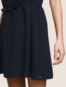 ARMANI EXCHANGE CUTOUT NECKLINE SWING DRESS Mini dress Woman b