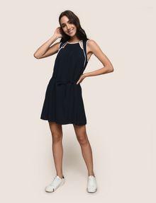 ARMANI EXCHANGE CUTOUT NECKLINE SWING DRESS Mini dress Woman d