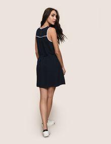 ARMANI EXCHANGE CUTOUT NECKLINE SWING DRESS Mini dress Woman e