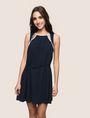 ARMANI EXCHANGE CUTOUT NECKLINE SWING DRESS Mini dress Woman f