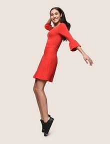ARMANI EXCHANGE BELL SLEEVE SWEATER DRESS Mini dress Woman a