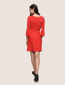 ARMANI EXCHANGE BELL SLEEVE SWEATER DRESS Mini dress Woman e