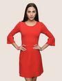 ARMANI EXCHANGE BELL SLEEVE SWEATER DRESS Mini dress Woman f