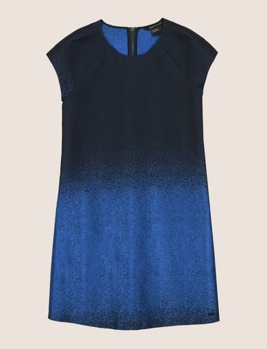 OMBRE JACQUARD TEE DRESS