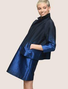 ARMANI EXCHANGE OMBRE JACQUARD TEE DRESS Mini dress Woman a