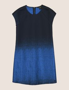 ARMANI EXCHANGE OMBRE JACQUARD TEE DRESS Mini dress Woman r
