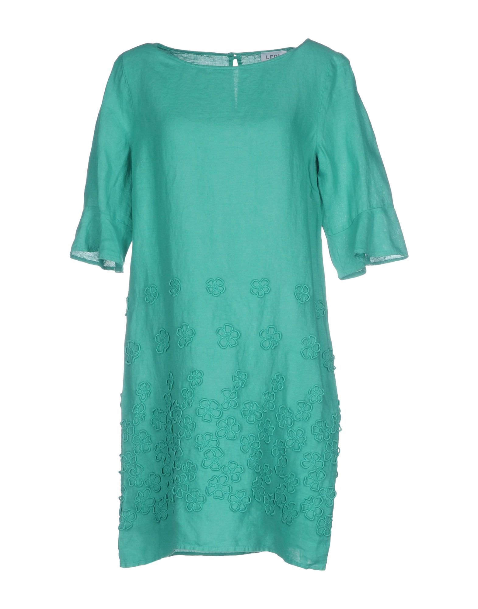 LA FABBRICA del LINO Короткое платье