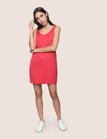 ARMANI EXCHANGE SLEEVELESS SATIN SHIFT DRESS Mini dress Woman d
