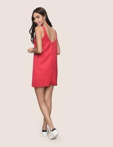 ARMANI EXCHANGE SLEEVELESS SATIN SHIFT DRESS Mini dress Woman e