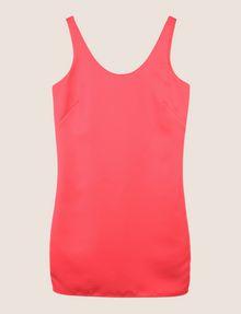 ARMANI EXCHANGE SLEEVELESS SATIN SHIFT DRESS Mini dress Woman r