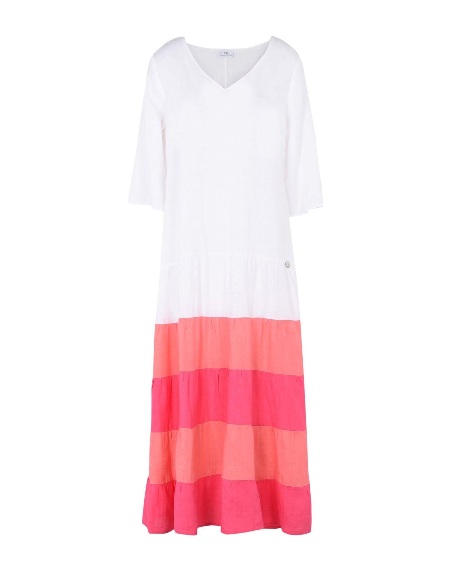LA FABBRICA del LINO Длинное платье