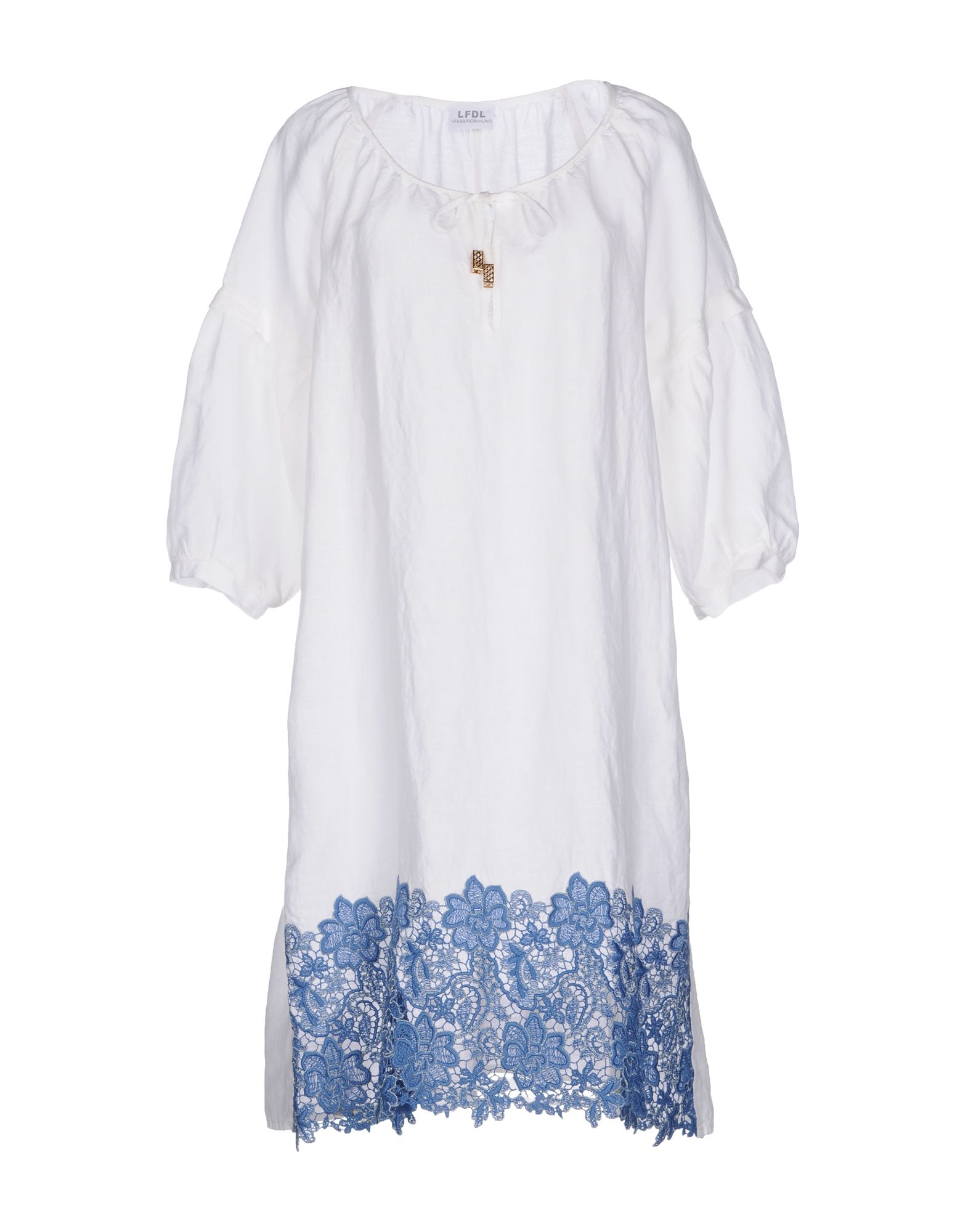 LA FABBRICA del LINO Платье до колена la roja insignia del valor