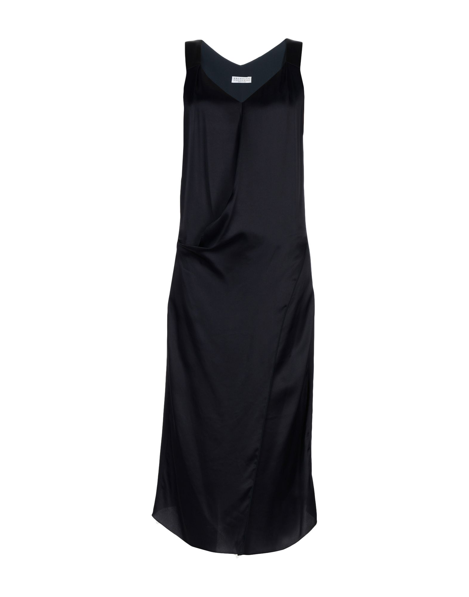 BRUNELLO CUCINELLI Платье длиной 3/4 lisa corti платье длиной 3 4