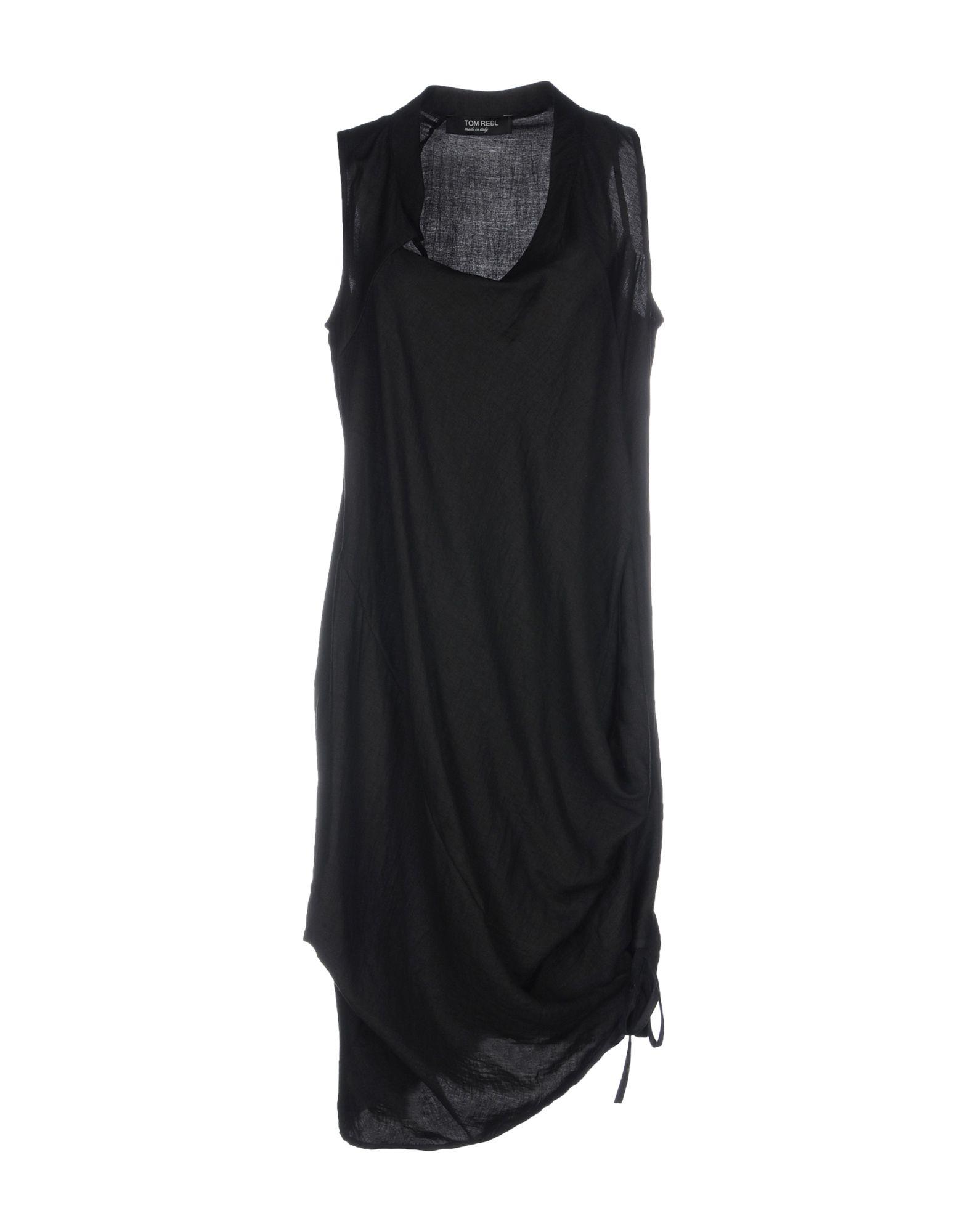 TOM REBL Короткое платье tom rebl длинное платье