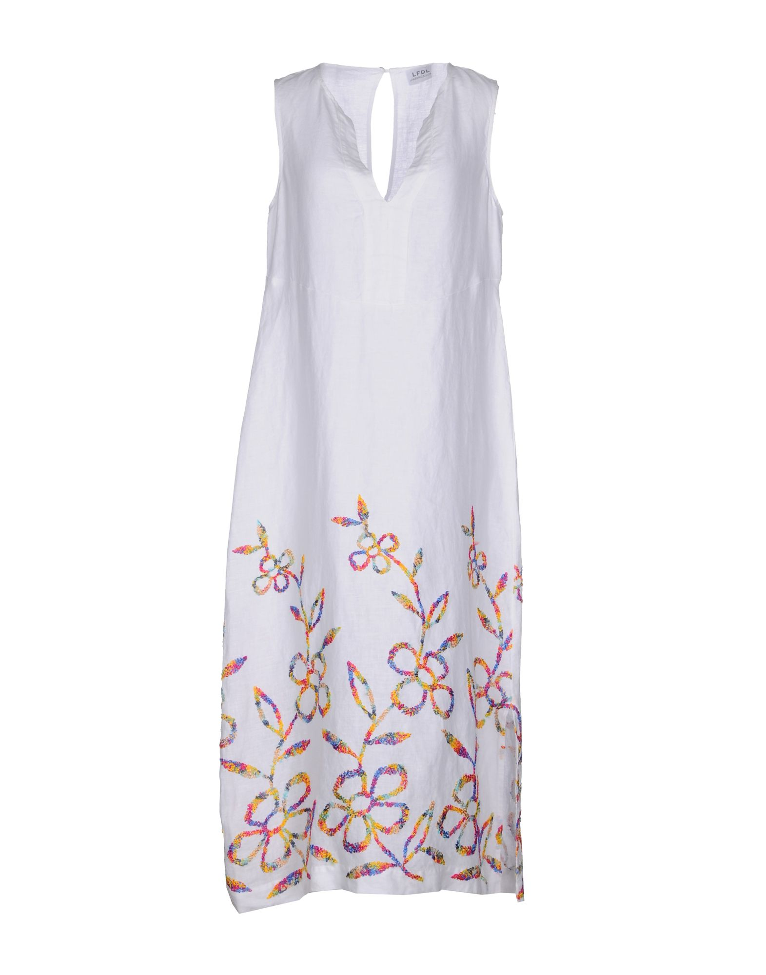 LA FABBRICA del LINO Платье длиной 3/4 la roja insignia del valor