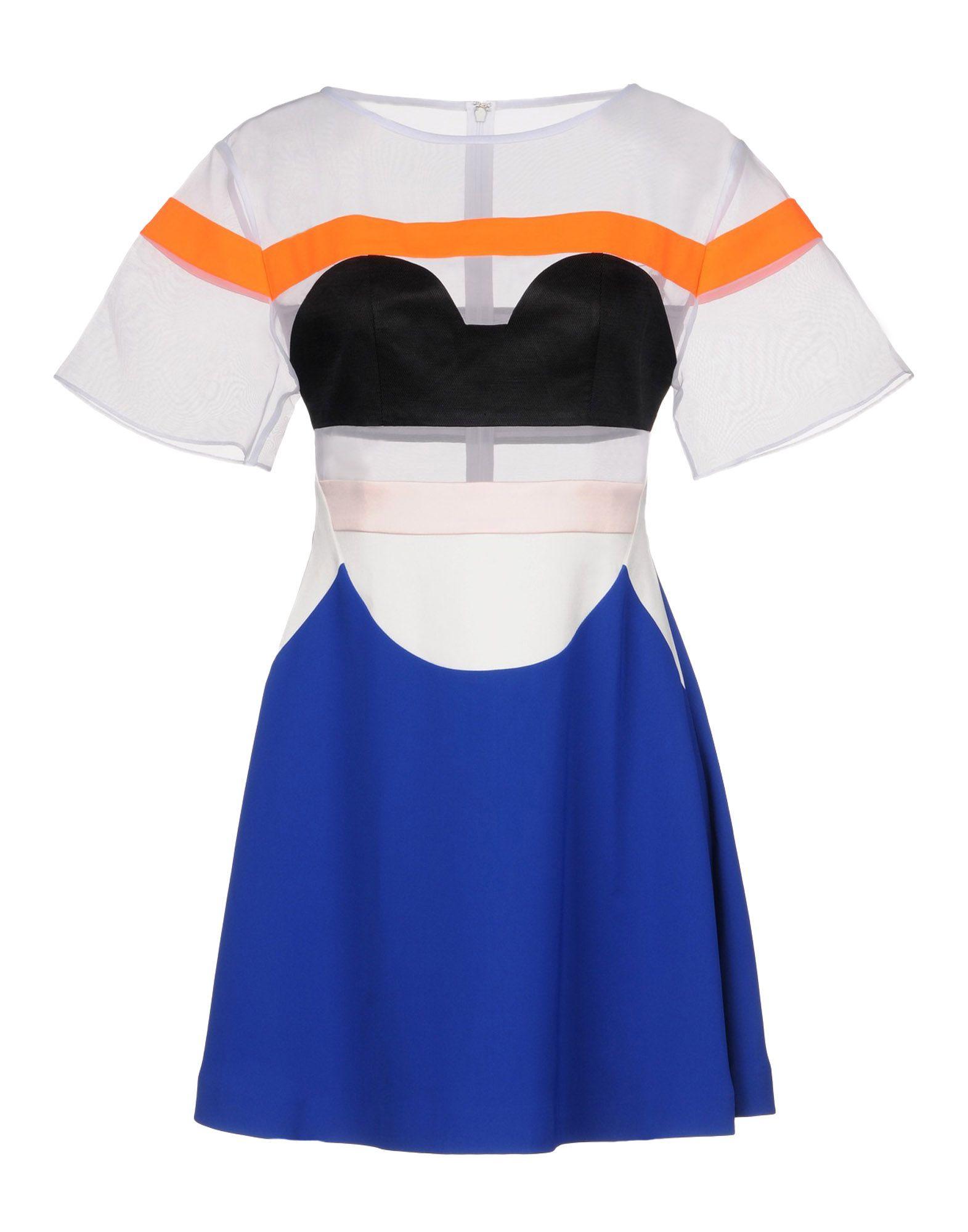 KAAL E.SUKTAE Short Dress in White