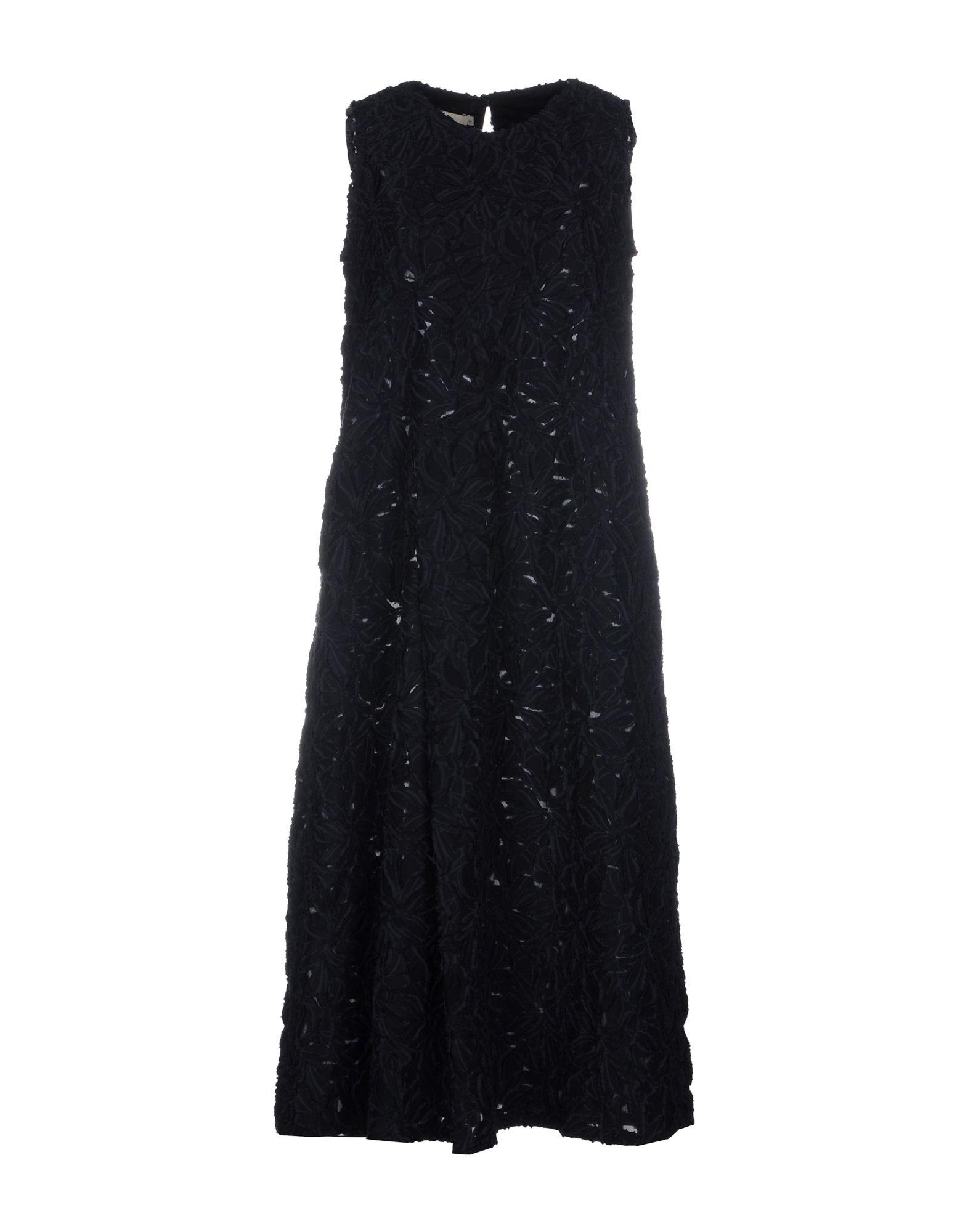 RENLI SU Платье длиной 3/4 lisa corti платье длиной 3 4