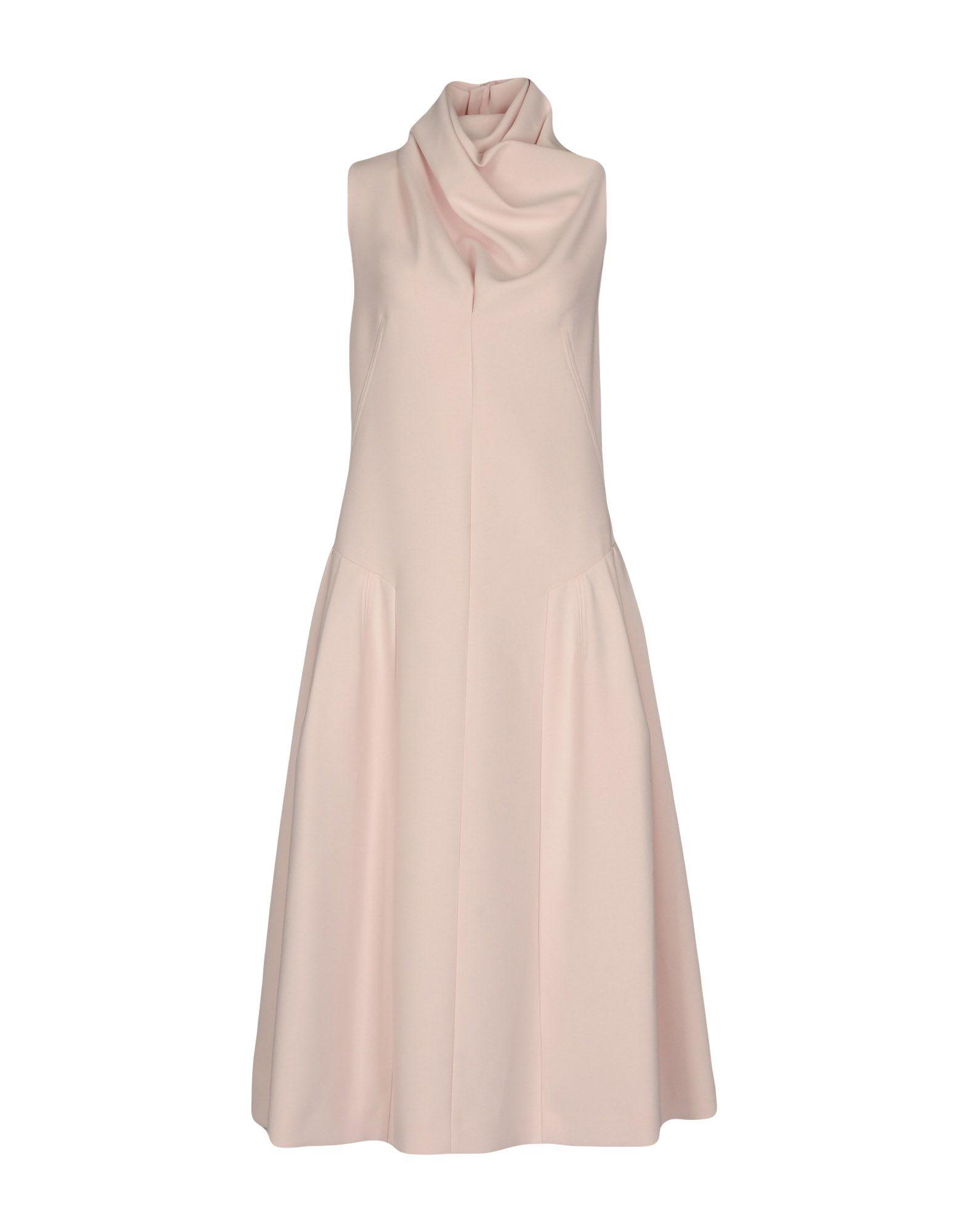 DIOR Платье длиной 3/4 dior homme шарф
