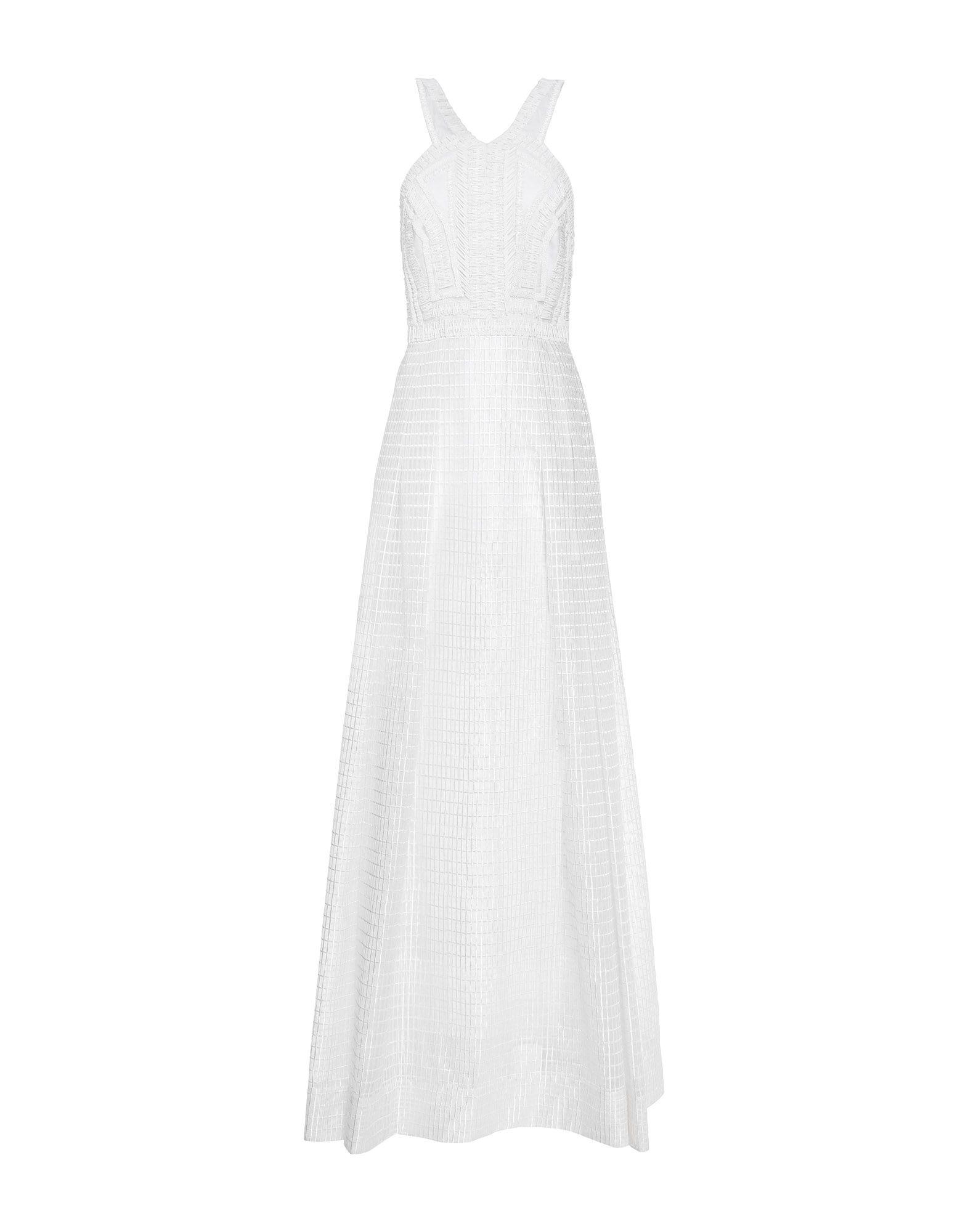 AMANDA WAKELEY Длинное платье amanda