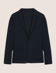 ARMANI EXCHANGE TEXTURED TWO-BUTTON BLAZER Blazer Man r
