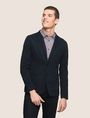 ARMANI EXCHANGE TEXTURED TWO-BUTTON BLAZER Blazer Man f