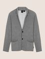 ARMANI EXCHANGE ZIGZAG STRIPE KNIT BLAZER Blazer Man r