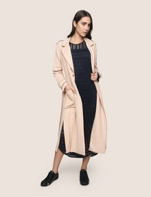 ARMANI EXCHANGE CONTRAST PIPING TRENCH COAT Coat Woman d