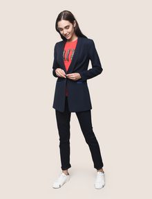 ARMANI EXCHANGE POP COLOR LONGLINE BLAZER Blazer Woman d