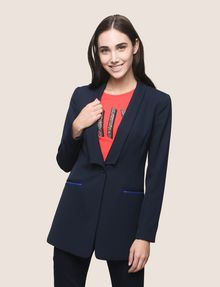 ARMANI EXCHANGE POP COLOR LONGLINE BLAZER Blazer Woman f