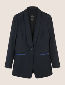 ARMANI EXCHANGE POP COLOR LONGLINE BLAZER Blazer Woman r