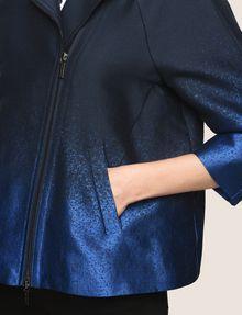 ARMANI EXCHANGE OMBRE JACQUARD A-LINE JACKET Jacket Woman b