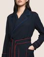 ARMANI EXCHANGE CONTRAST PIPING TRENCH COAT Coat Woman b