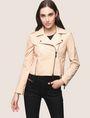 ARMANI EXCHANGE LEATHER MOTO JACKET Leather Woman f