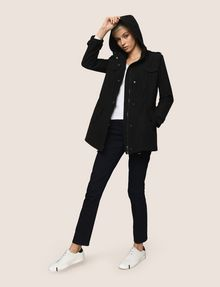 ARMANI EXCHANGE LONGLINE UTILITY PARKA Coat Woman d